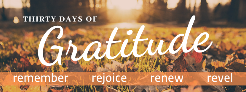 Thirty Days of Gratitude
