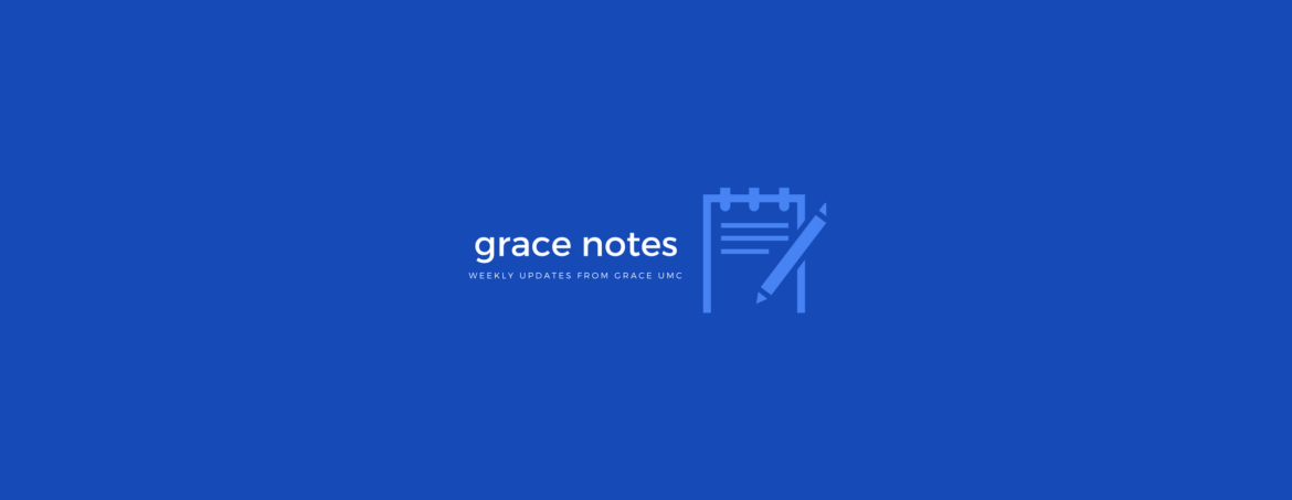 Grace Notes – Nov 25