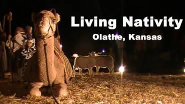 Living Nativity at KC Pumpkin Patch