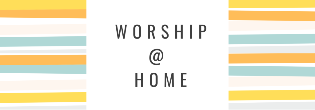 Kids worship at home