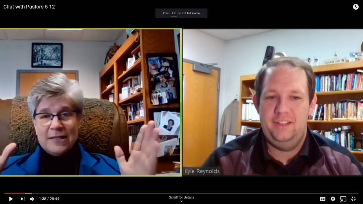 Chat with the Pastors – May 12