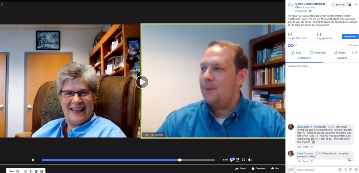 Chat with the Pastors – June 23