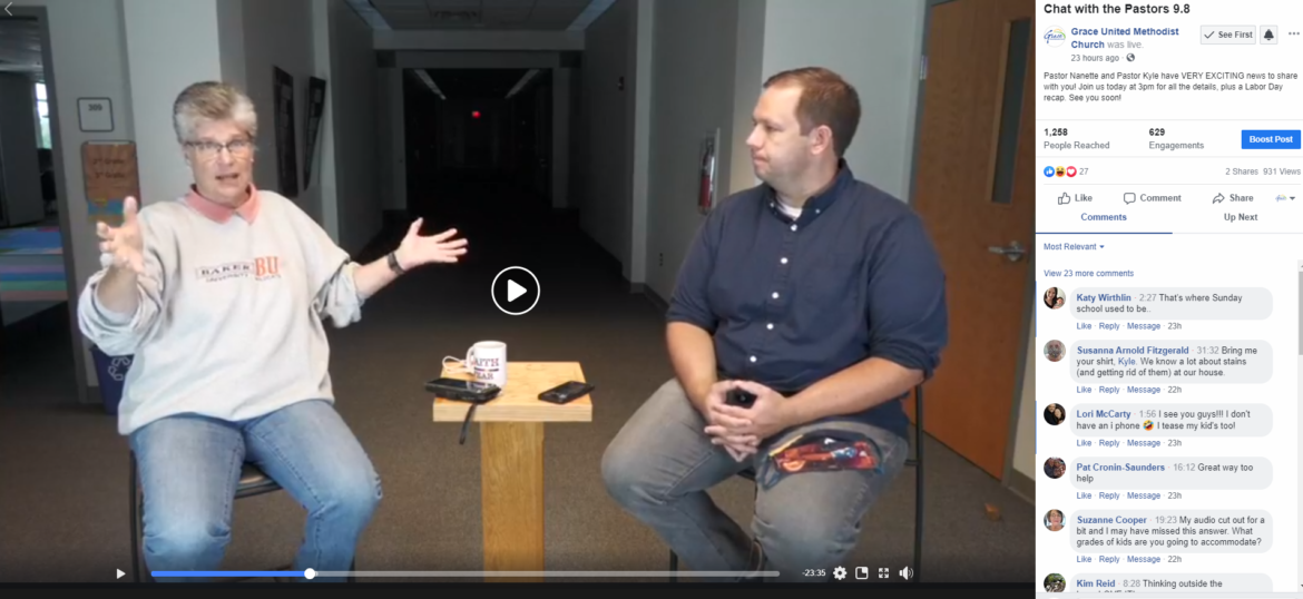 Chat With the Pastors – Sept 8