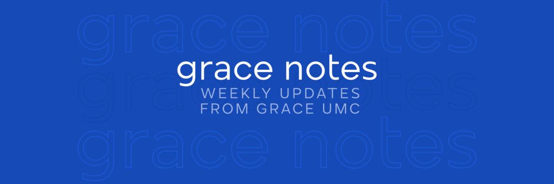 Grace Notes – April 26